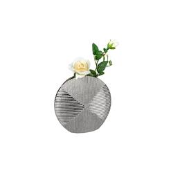 Vase in antikfarbig, 20 x 20 cm
