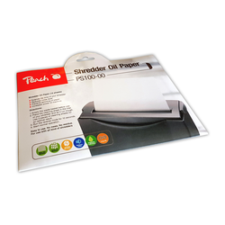 Peach Aktenvernichter Service Kit (Ölpapier) 12 Blatt/Packung