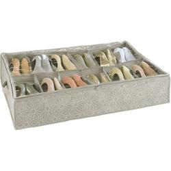 WENKO Unterbettkommode Unterbettkommode für Schuhe