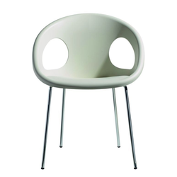 SCAB Designer Stuhl DROP chrom h74275
