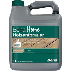 Bona Holzentgrauer, Oberflächenreiniger löst effektiv Schmutz und Moos, 4 Liter - Kanister