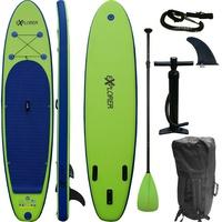 Explorer Inflatable SUP-Board 320 (mit Paddel, Pumpe und Transportrucksack) grün
