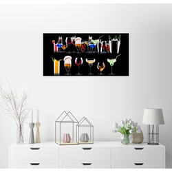 Posterlounge Wandbild, Barkeeper`s Shelf 40 cm x 20 cm