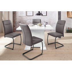 HELA Essgruppe RUBINA, (Set, 5-tlg), Tisch ausziehbar 120-160 cm
