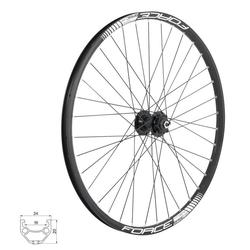 FORCE Fahrrad-Laufrad Vorderrad DISC 6 Loch Disk - MTB Laufrad