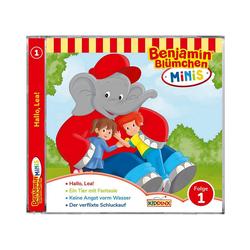 Kiddinx Hörspiel CD Benjamin Blümchen Minis - Folge 1: Hallo,Lea!