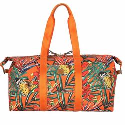 Bric's X-Bag Reisetasche 55 cm orange butterflies