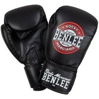 BENLEE Rocky Marciano Boxhandschuh mit großem Logo-Druck PRESSURE schwarz