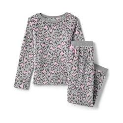 Pyjama-Set aus Plüsch-Fleece - 98/104 - Pink