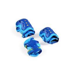 Byox Kinder-Schutzausrüstung Schutzausrüstung Simon Größe M, 25 - 50 kg, Knie- Ellenbogen- Handgelenkschoner