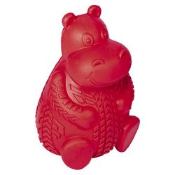 Nobby Vollgummi Nilpferd rot