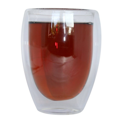 ZELLERFELD Gläser-Set 2er Set Teegläser Thermoglas Kaffeegläser Doppelwand 350ml ideal für Tee, Kaffee, Kakao, Cappucino