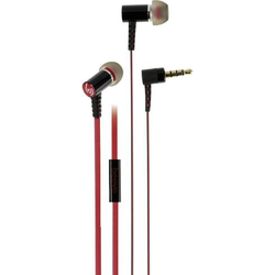 Vivanco URB 30 HiFi In Ear Kopfhörer In Ear Schwarz, Rot