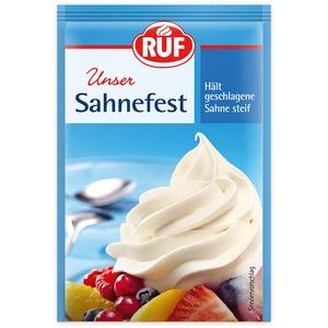 RUF Sahnefest hält geschlagene Sahne steif, 25er Pack (25 x 5 x 8g)