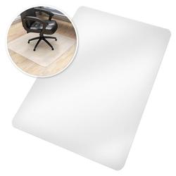 Fußmatte Bodenschutzmatte für Bürostühle, tectake, Höhe 0.18 mm 120 cm x 75 cm x 0.18 mm