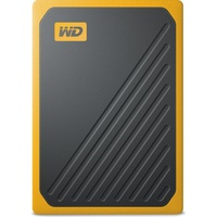 Western Digital My Passport Go 500GB USB 3.0 schwarz/gelb