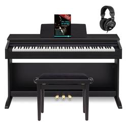 Casio Celviano AP-270 BK Digitalpiano schwarz Set inkl. Bank, Kopfhörer & Schule
