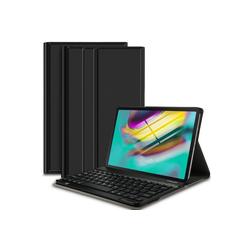IVSO Tablet-Hülle Samsung Galaxy TAB S5e case+Normal keyboard für Samsung Galaxy TAB S5e T720/T725 10.5 26,7 cm (10,5 Zoll), Bluetooth Keyboard Hülle Tastatur Schutzhülle Case schwarz