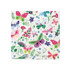 stewo Papierserviette My Butterflies, (20 St), 33 cm x 33 cm, verschiedene Größen
