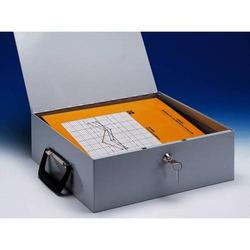 Dokumenten-Ordnerkassette A4 lichtgrau