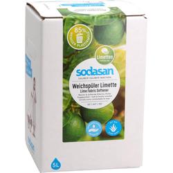 SODASAN Weichspüler Limette 5 Liter