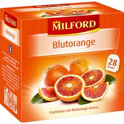 Milford Blutorange Früchtetee mit Blutorangen Aroma 6er Pack