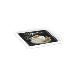 HTI-Line Tablett Tablett Cappuccino, Holz, Tablett