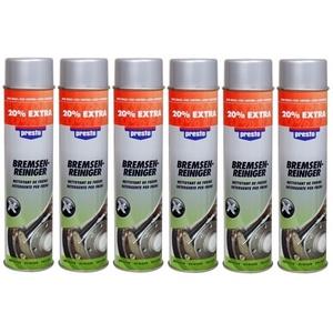 Bremsenreiniger-Set (6 X 600ml) | Presto