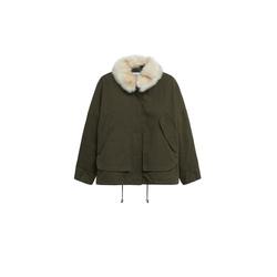 MANGO Damen Parka 'Mary' khaki, Größe XL, 5109239