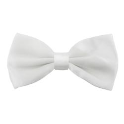 Fliege Schleife Hochzeit Anzug Smoking - weiß