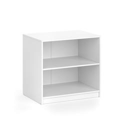 Vicco Kommode Visit Kleiderschrank Sideboard Regal Umkleide zweigeteilt Weiß
