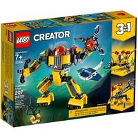 Lego Creator 3in1 Unterwasser-Roboter 31090