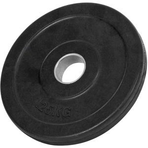 Hantelscheibe mit Gummiüberzug, Hantel, Gewichte, Stück: 1,25 kg