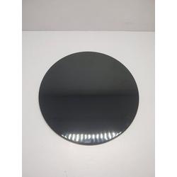 Q Squared NYC Tortenplatte, Melamin, (1-tlg., 1 x Tortenplatte), Ø 30 cm schwarz