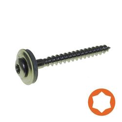 Spenglerschraube A2 4,5 x 55 mm, Scheibe Ø 15 mm / Pck a 100 Stück