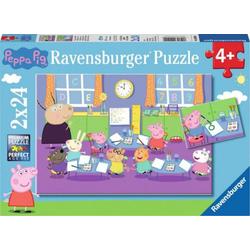 PEPPA PIG Puzzle in der Schule