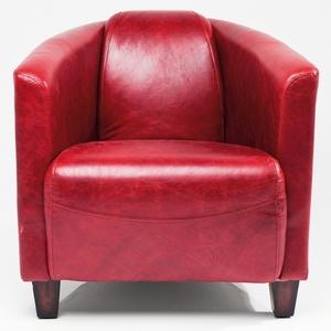 Kare Design Sessel Cigar Lounge Red