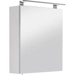 OPTIFIT Spiegelschrank Mino Breite 60 cm weiß