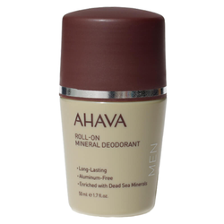 AHAVA Mens Roll-On Mineral Deodorant 50 ml