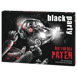 moses Spiel, Kartenspiel Black Party - Der Tod des Paten, 6-7 Spieler