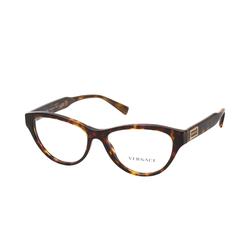 Versace VE 3276 108, inkl. Gläser, Cat Eye Brille, Damen