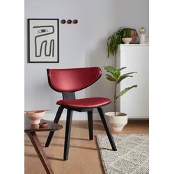 andas Stuhl NO37 rot Holzstühle Stühle Sitzbänke
