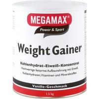 MEGAMAX Weight Gainer Vanille Pulver 1500 g