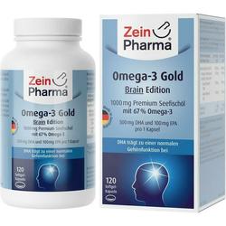 Omega-3 Gold Gehirn DHA 500mg/EPA 100 mg
