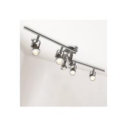 B.K.Licht LED Deckenspots Phönix 6, LED Deckenstrahler Deckenleuchte Lampe modern Spot-Leuchte Spotlights inkl.5W 400lm