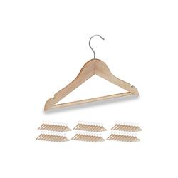 relaxdays Kleiderbügel 60 x Kinder Kleiderbügel