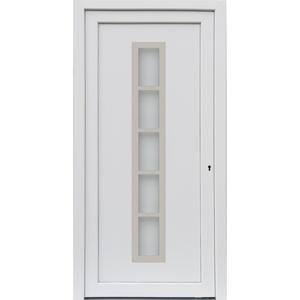 kuporta Kunststoff Haustür Merida Türen 108 x 200 cm DIN links weiß
