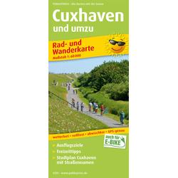 Cuxhaven und umzu (mit Stadtplan) 1:60 000