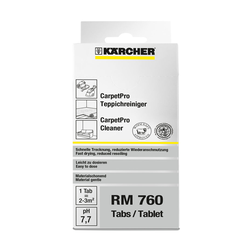 CarpetPro Reiniger iCapsol, Tabs RM 760, 16 Tabs