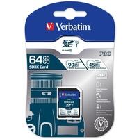 Verbatim SDXC Pro 64GB Class 10 UHS-I U3